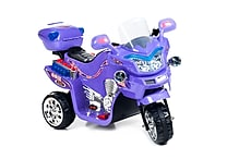 Lil Rider Plastic 3 Wheel Battery Powered Bike, Purple