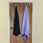 Lavish Home Over-The-Door Hanging Rack, Silver