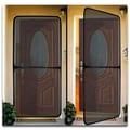 Jobar Screen Door for Home & Office, Black