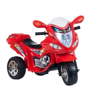 "Lil Rider 31.75"" x 14.25"" Motorized Ride on Three Wheel Motorcycle Trike"