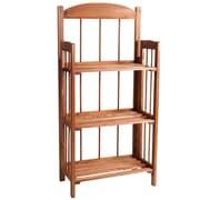Lavish Home Wood Bookcase 3 Shelf
