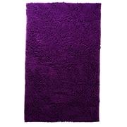 Lavish Home High Pile Carpet Shag Rug, Purple