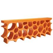 Modway EEI-1051-ORA Fiberglass Wander Stand, Orange