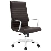 Modway EEI-1061-BRN Finesse Highback Office Chair, Brown