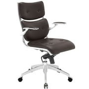 Modway EEI-1062-BRN Push Midback Office Chair, Brown
