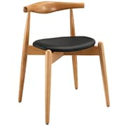 Modway Stalwart EEI-1080 Wood Dining Chairs, Black