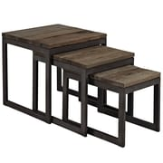 Modway Covert Wood/Veneer Sets Table, Brown, Each (848387018436)