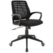 Modway EEI-1250-BLK Ardor Office Chair, Black