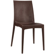 Modway Intrepid EEI 1466 Plastic Dining Chair, Coffee