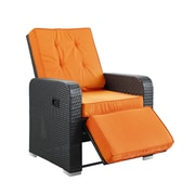 Modway Commence EEI-985-EXP-ORA 1 Piece Padded Armchair, Orange