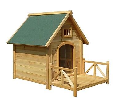 MAOS K-9 Kastle Dog House