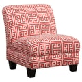 Handy Living Andee Slipper Chair; Sunrise Red