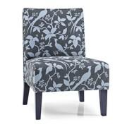 DHI Monaco Bardot Slipper Chair; Teal