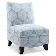 DHI Donovan Gabrielle Slipper Chair; Sky