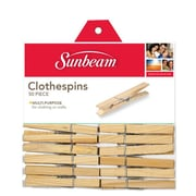 Sunbeam Wooden Clothespin (Pack of 50)
