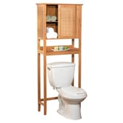 TMS Bamboo 27.56'' x 66.93'' Over the Toilet Cabinet