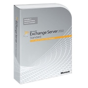 Microsoft® 64-Bit 1-Server 5-Client DVD Exchange Server 2010 Standard Edition Software