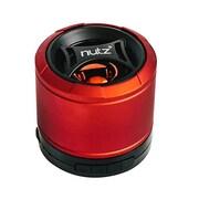 iNut Limited Nutz™ Boom 3 W Portable Wireless Speaker, Red