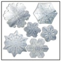 Artscape 12in.H x 12in.W Snowflake Holiday Window Accents