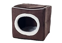 PAW Cozy Cave Enclosed Cube Pet Bed, Assorted Colors