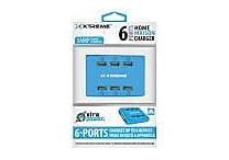 Xtreme 5AMP 6 Port Power Stations, Assorted Colors