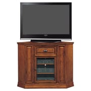 Riley Holliday Boulder 47'' Highboy Corner TV Stand; Oak