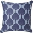 "Surya FBK001-1818P Decorative Pillows 100% Cotton, 18"" x 18"" Polyfill"