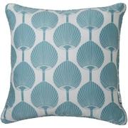 Surya FBK002-1818D Decorative Pillows 100% Cotton, 18 x 18 Down Fill