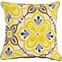Surya KS013-2020P Alhambra Embroidered 100% Cotton, 20 x