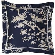 "Surya FBC001-1818P Decorative Pillows 100% Cotton, 18"" x 18"" Polyfill"
