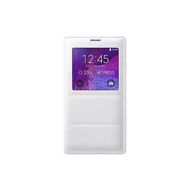 Samsung - Étui S View pour Galaxy Note 4 de Samsung, blanc
