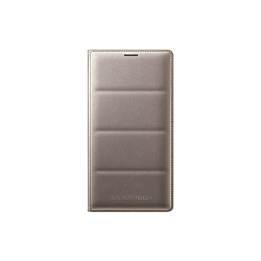 Samsung Note 4 Flip Wallet, Gold