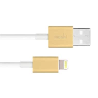 Moshi 3 ft. Lightning USB Data Cable, Gold