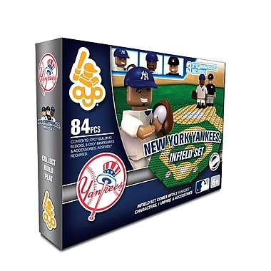 MLB OYO Sportstoys Infield Set, New York Yankees