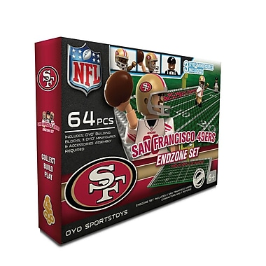 NFL OYO Sportstoys Endzone Set, San Francisco 49ers