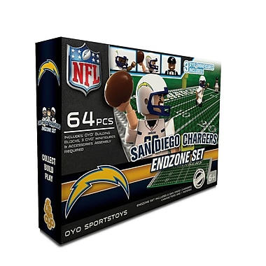 NFL OYO Sportstoys Endzone Set, San Diego Chargers