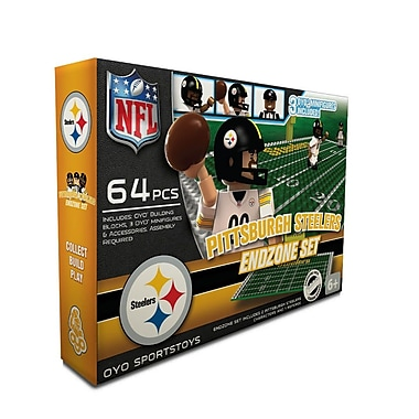 NFL OYO Sportstoys Endzone Set, Pittsburgh Steelers