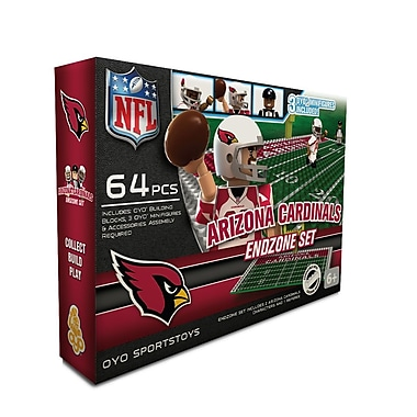 NFL OYO Sportstoys Endzone Set, Arizona Cardinals