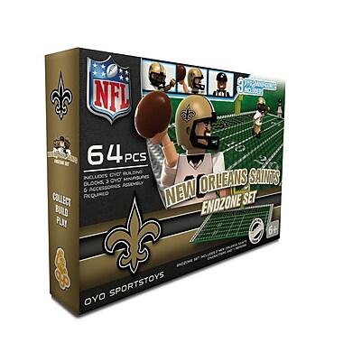 NFL OYO Sportstoys Endzone Set, New Orleans Saints