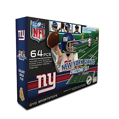 NFL OYO Sportstoys Endzone Set, New York Giants