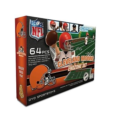NFL OYO Sportstoys Endzone Set, Cleveland Browns