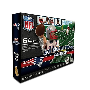 NFL OYO Sportstoys Endzone Set, New England Patriots