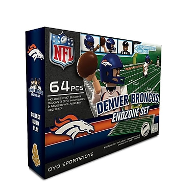 NFL OYO Sportstoys Endzone Set, Denver Broncos