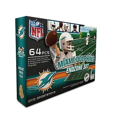 NFL OYO Sportstoys Endzone Set, Miami Dolphins