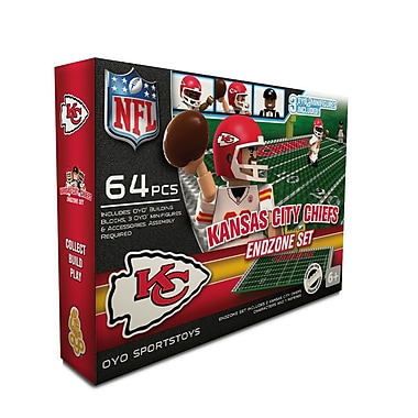 NFL OYO Sportstoys Endzone Set, Kansas City Chiefs