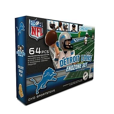 NFL OYO Sportstoys Endzone Set, Detroit Lions