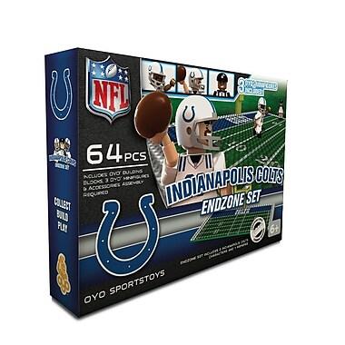 NFL – Ensemble de zone de but d'OYO Sportstoys, Colts de Indianapolis