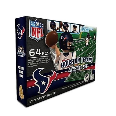 NFL OYO Sportstoys Endzone Set, Houston Texans