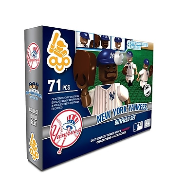 MLB OYO Sportstoys Outfield Set, New York Yankees