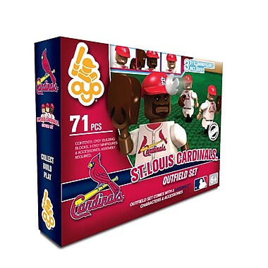 MLB OYO Sportstoys Outfield Set, St. Louis Cardinals
